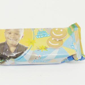 Delys Biscuits fourrés Vanille