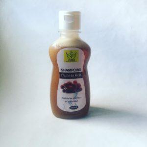 shampooing à base d'huile de ricin