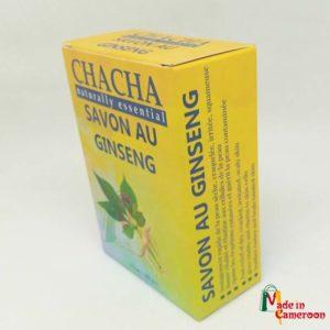 Chacha Savon au Ginseng par Radem SA
