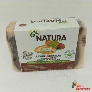 Natura - savon au beurre de cacao et bave d'escargot