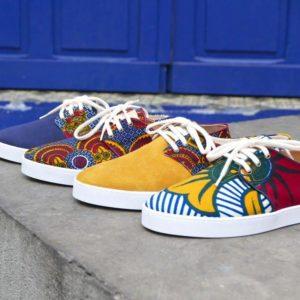 Etoile collection de chaussure par Josselin Nana