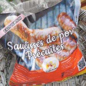 Saucisses de Porcs précuites