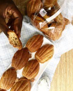 Madeleines diététiques à la noix de coco