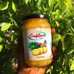 Confiture d'ananas D-FIT