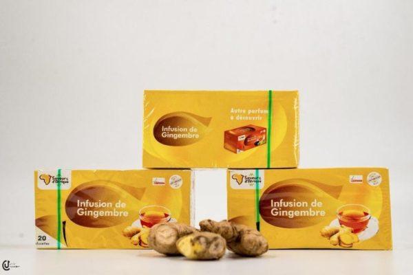 Thé au gingembre par Saveur d'Afrique